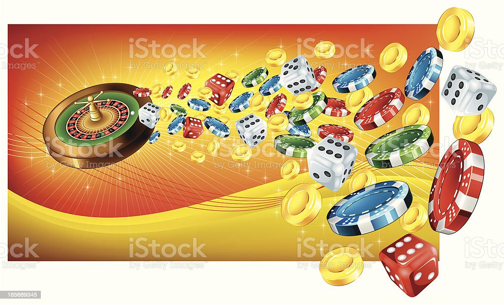 Casino design royalty-free stock vector art