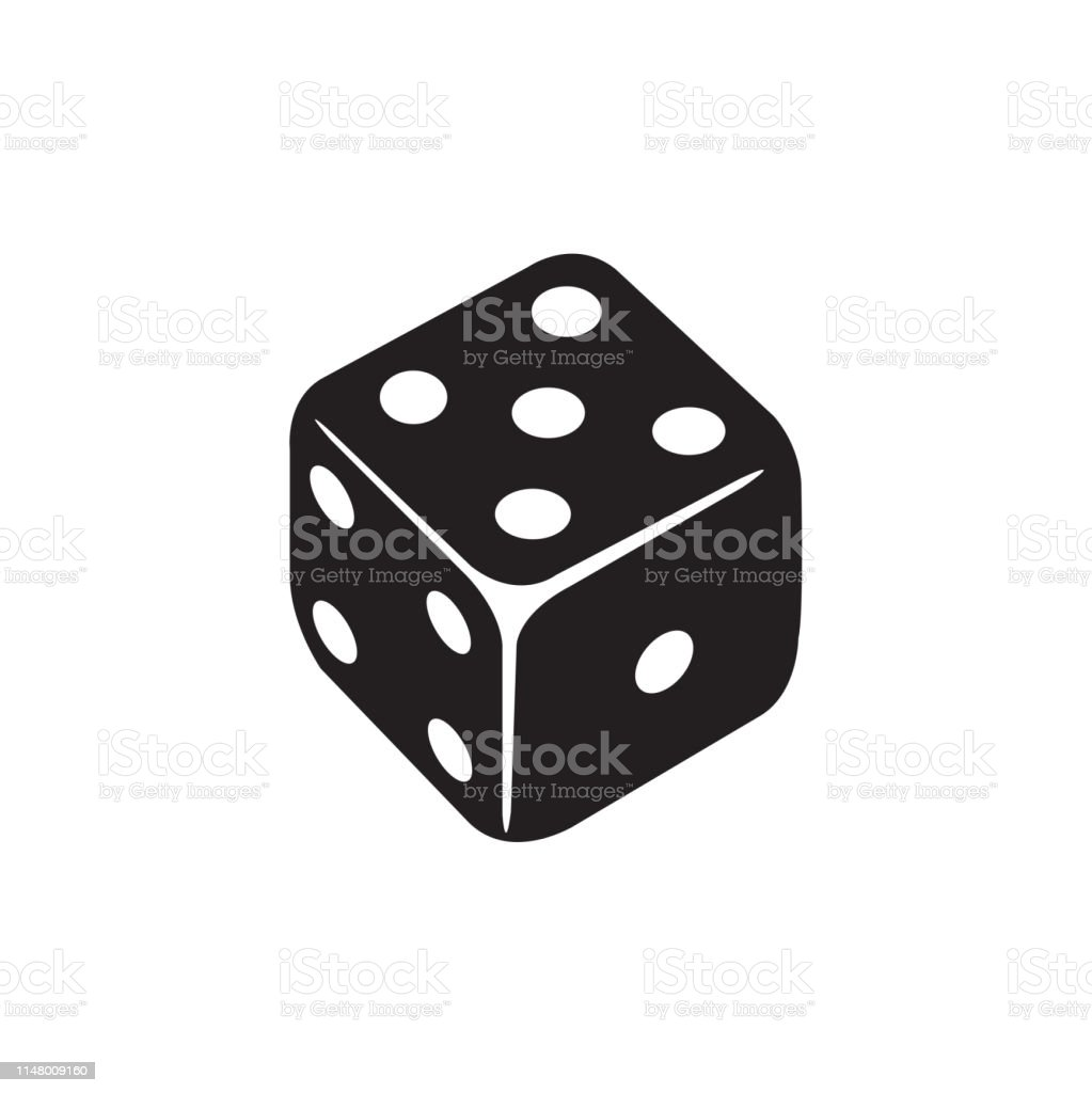 Casino Dice Icon In Flat Style Vector Icon For Apps, UI, Websites....