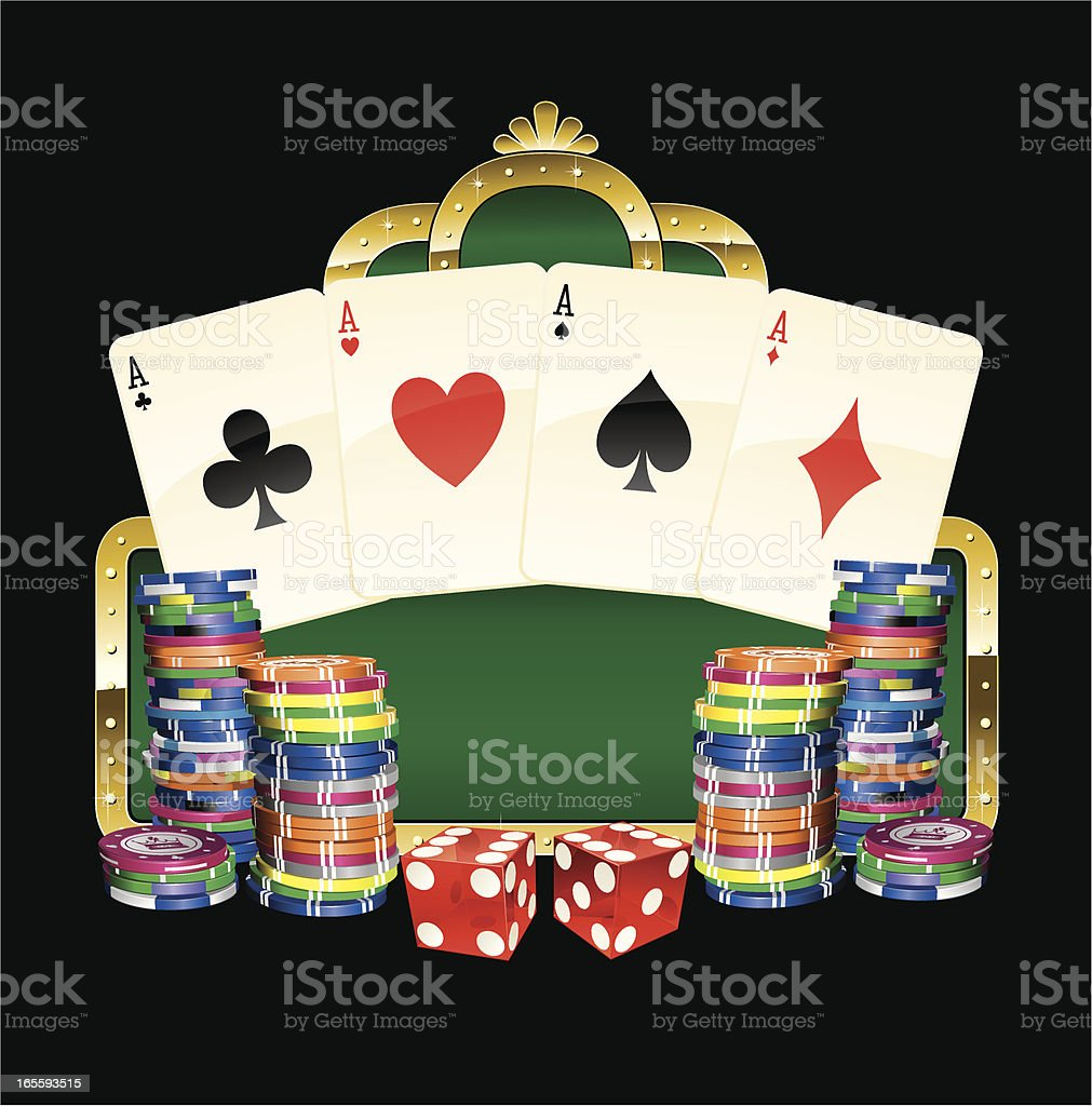 casino marquee royalty-free stock vector art