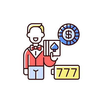 Casino RGB color icon