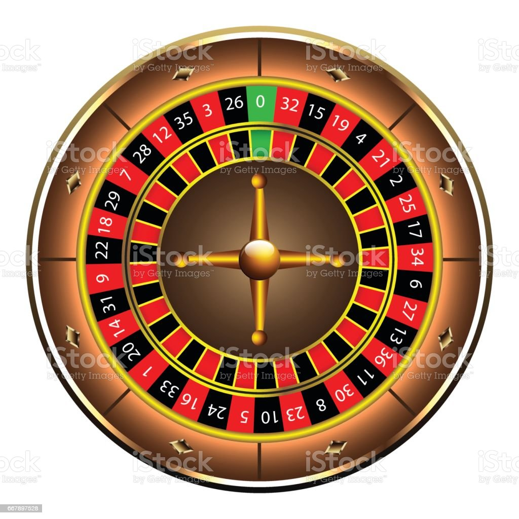 Casino roulette wheel royalty-free casino roulette wheel stock vector art & more images of black color