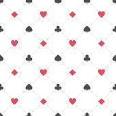 Casino seamless pattern.
