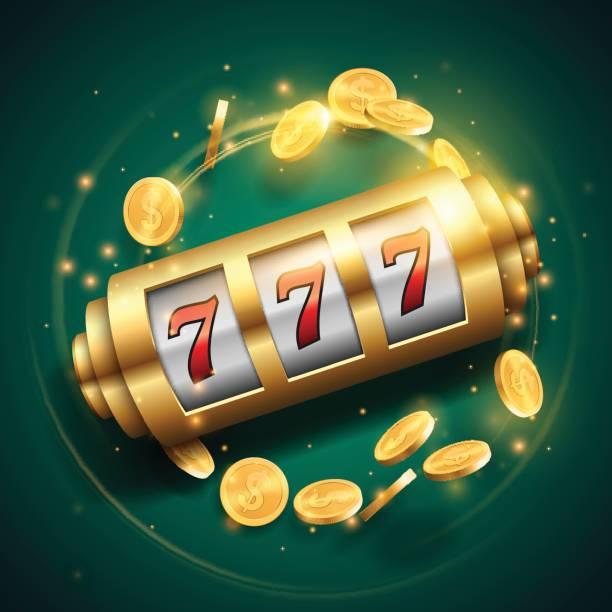 casino machine à sous - Illustration vectorielle