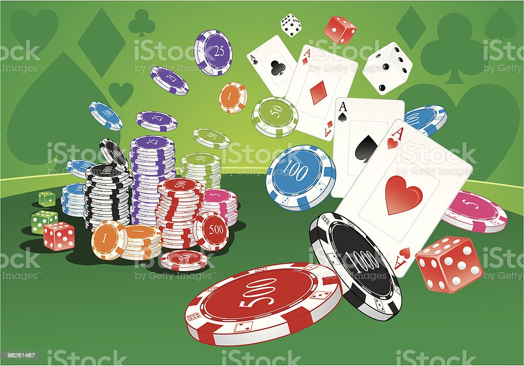 Casino table royalty-free casino table stock vector art & more images of ace