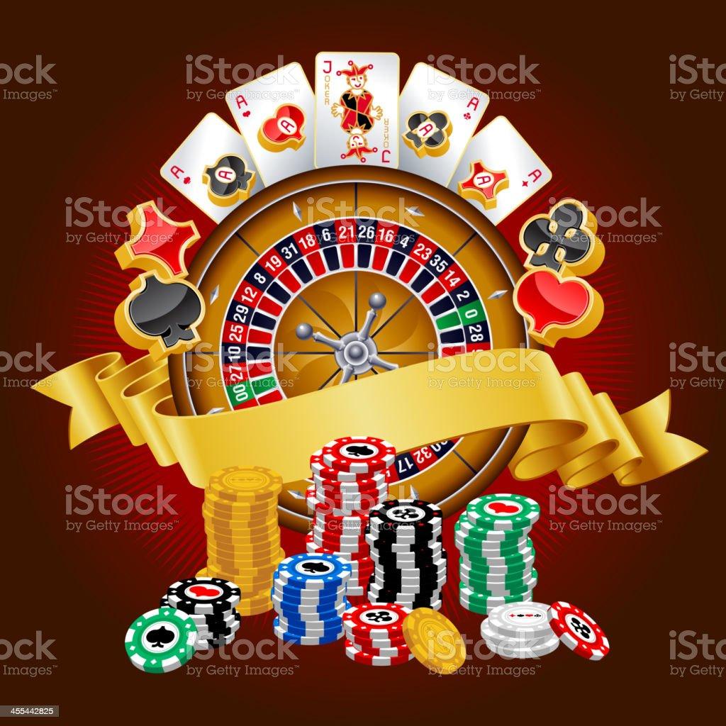 Casino royalty-free stock vector art