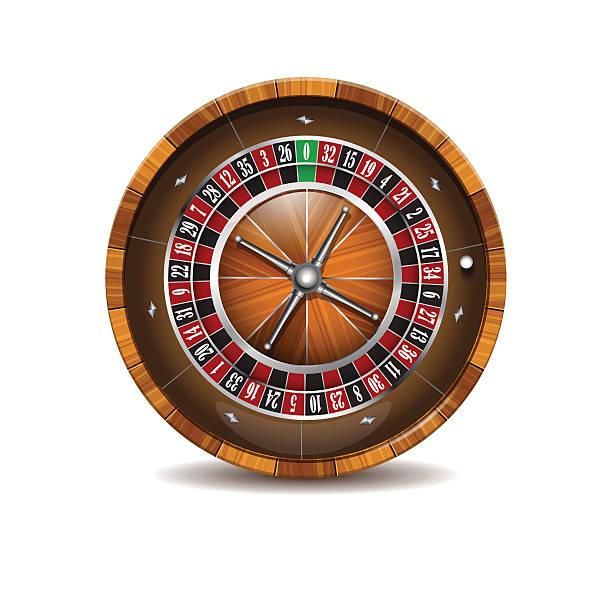 ilustrações de stock, clip art, desenhos animados e ícones de casino wooden roulette wheel. - enjoying wealthy life
