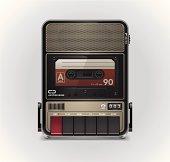 Cassette recorder XXL icon