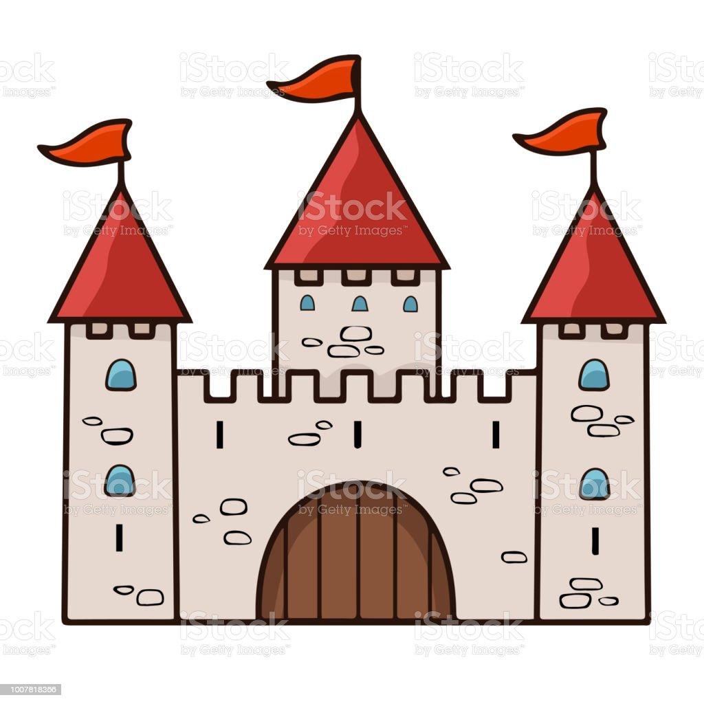 Caricature De Chateau De Dessin Illustration Vectorielle Vecteurs Libres De Droits Et Plus D Images Vectorielles De Antique Istock