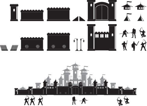 Castle construction set