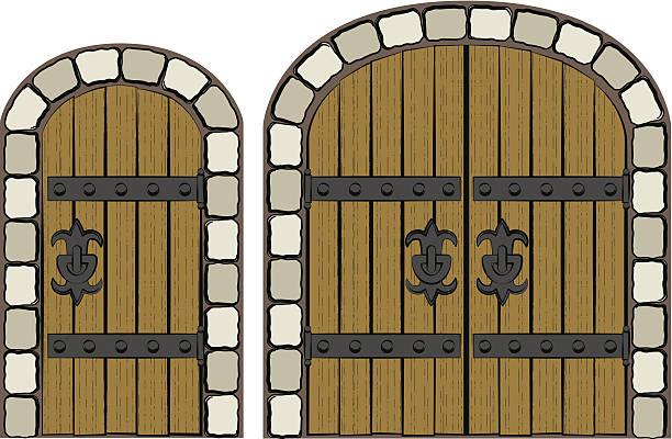 Royalty Free Castle Door Clip Art, Vector Images ...