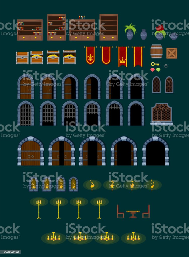 Castle Game Objects