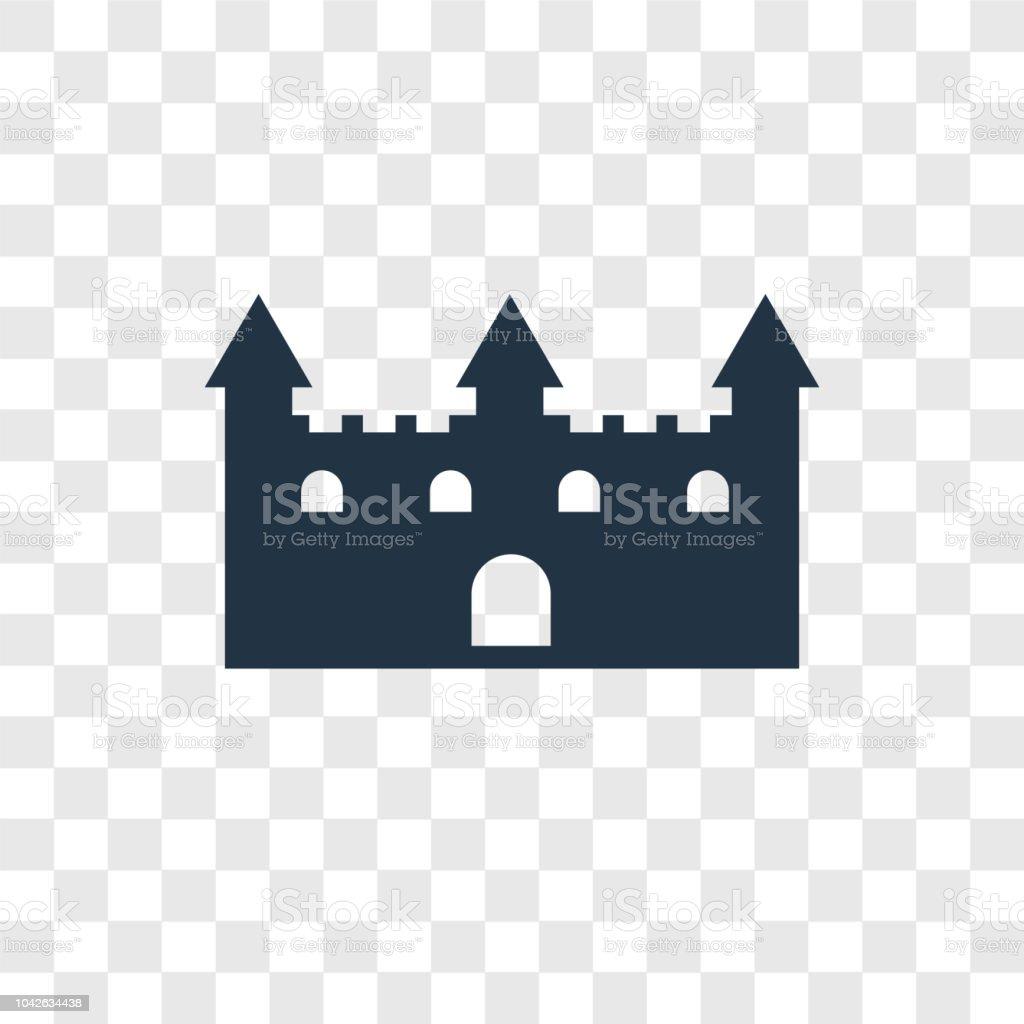 Aislado Ilustración De Icono Juguete Sobre Vector Castillo kXTwiZuOP