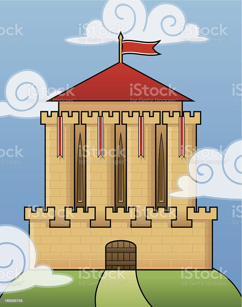 Castle royalty-free castle stock vector art & more images of ancient