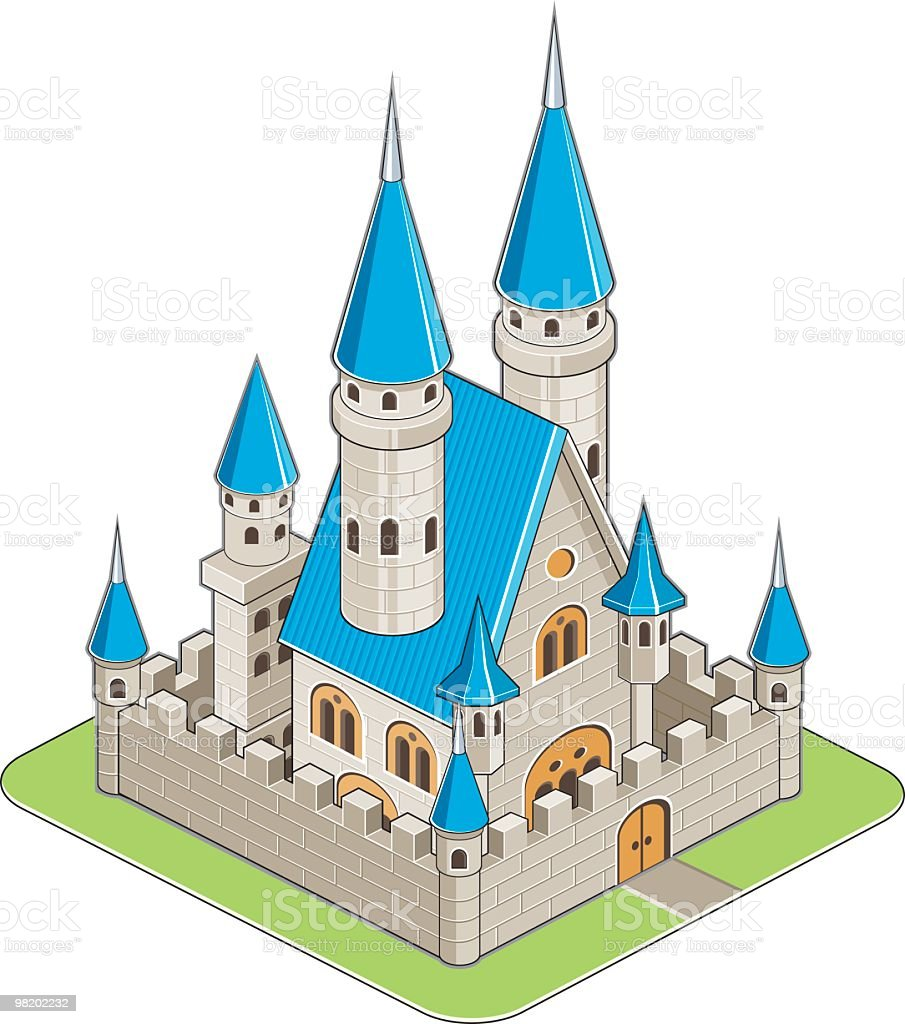 castle royalty-free castle stock vector art & more images of building exterior