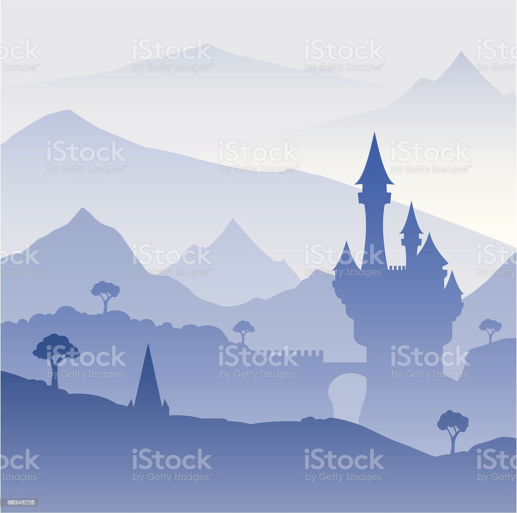 Castle royalty-free castle stock vector art & more images of architecture