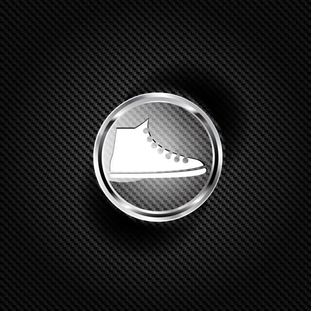 legere keds, sportschuhe-symbol - keds stock-grafiken, -clipart, -cartoons und -symbole
