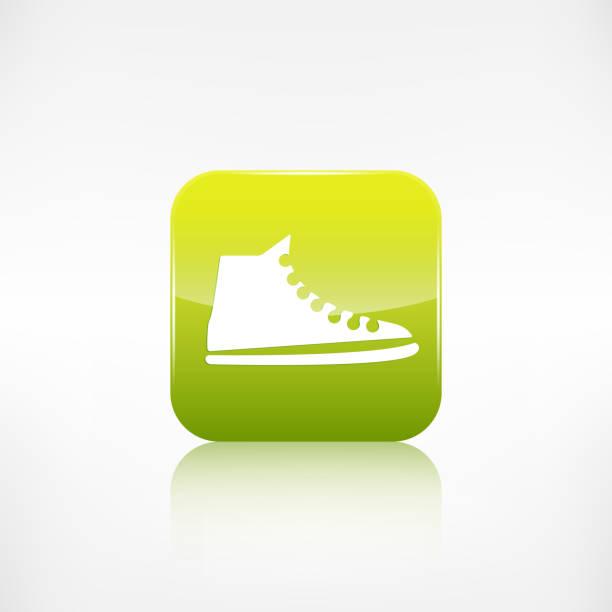 "legere keds, sportschuhe icon.application "". - keds stock-grafiken, -clipart, -cartoons und -symbole"