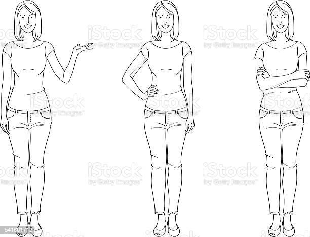 Casual woman line drawing vector id541601712?b=1&k=6&m=541601712&s=612x612&h=xqgizlw 6vcjr5lt5 1 xabno5xa0 bk2gmdguz dmm=