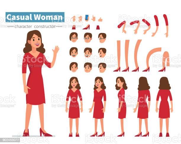 Casual woman vector id902453072?b=1&k=6&m=902453072&s=612x612&h=izta8x0tm1rqpzd0n64gzmgdnubr olldlys50tggww=