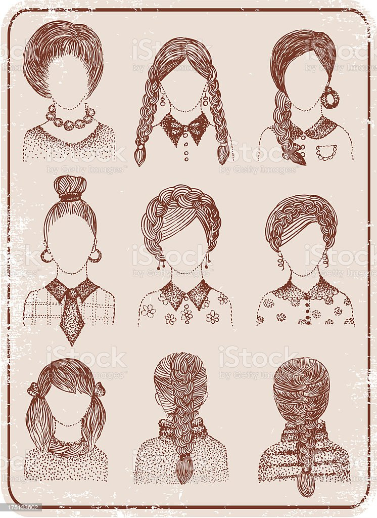 Casual women style. royalty-free casual women style stock vector art & more images of adult