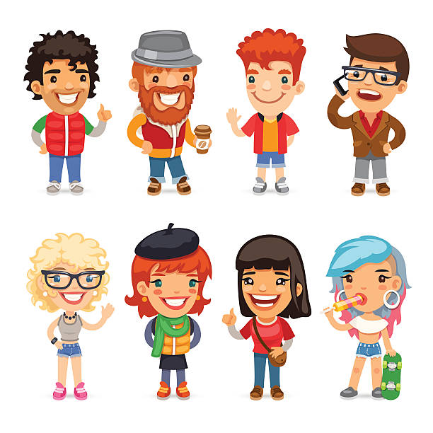 M A S K Cartoon Characters : Royalty free nerd pants clip art vector images
