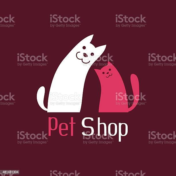 Cat and dog are best friends sign for pet shop vector id481431304?b=1&k=6&m=481431304&s=612x612&h=slghw84qbe4ypljneejwwd246rn7 okizjpa0t e1hc=