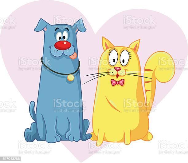 Cat and dog cartoon vector mascots vector id517043266?b=1&k=6&m=517043266&s=612x612&h=10rxglwvnrmwckp zu hwmvxrtyunrbmxd5cfskfj 4=