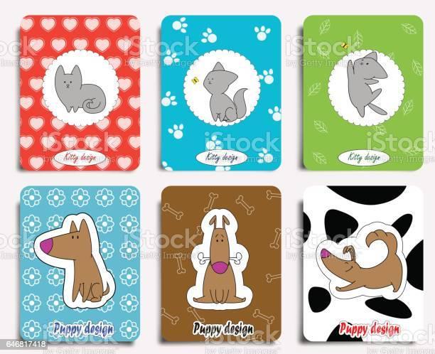Cat and dog characters vector id646817418?b=1&k=6&m=646817418&s=612x612&h=0r9pkpkumbyag1qo0bniyqwk4rrd2kbw5cbknagylaw=