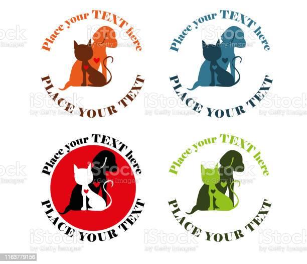 Cat and dog colorful shelter logo design vector id1163779156?b=1&k=6&m=1163779156&s=612x612&h=htddho7 fsflpyqts97iv9lvjsgbc9sawzbypsvxokc=