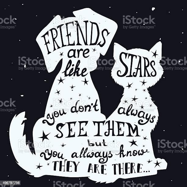 Cat and dog friends grungy card friendship day with quote vector id496797756?b=1&k=6&m=496797756&s=612x612&h=rtdn6dbxsf z2q 3lkdbyzycc1ygv7w2s6j4a0g9 yy=