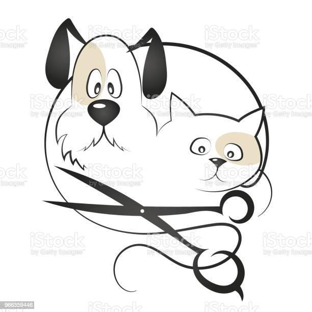 Cat and dog haircut vector id966359446?b=1&k=6&m=966359446&s=612x612&h=t1dj t5oirsfu39wfzp4jj ejmwbedhsw pemi9pai4=