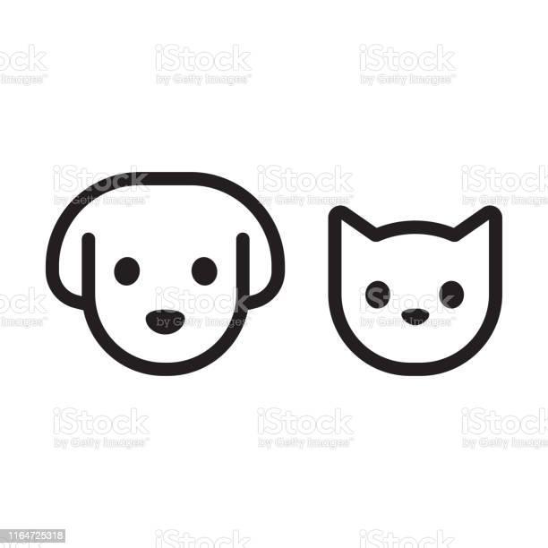 Cat and dog head icon vector id1164725318?b=1&k=6&m=1164725318&s=612x612&h=i1kixu7wbuj pwkxgvownagcu9dbspijehgqetd12om=