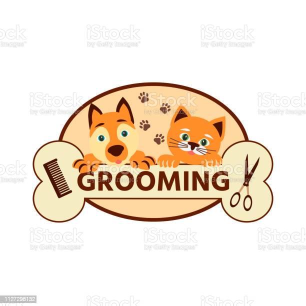 Cat and dog icon grooming pets vector id1127298132?b=1&k=6&m=1127298132&s=612x612&h=mclj48yal9zkmtpwarza5clvrxzvk1q2grwamopyowi=