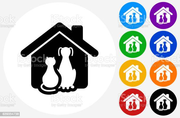 Cat and dog icon on flat color circle buttons vector id639354738?b=1&k=6&m=639354738&s=612x612&h=goou92pvmeest0unfeqa3xu8spbqvgmn42utdtnpnv0=