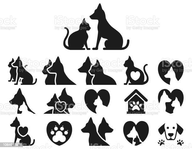 Cat and dog icon set vector id1064648518?b=1&k=6&m=1064648518&s=612x612&h=ayc0vkdewvbxqhv3ly3wlxe8tkdrzhbkisbwu8dmlzc=