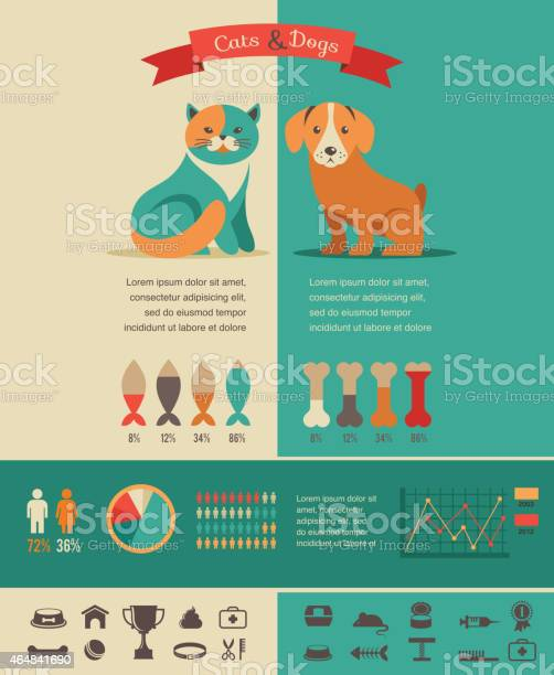 Cat and dog infographics with vector icons set vector id464841690?b=1&k=6&m=464841690&s=612x612&h=pdl5unn5nu0hcmmuqqn9irsqs4axq0lvq ld dzhbdg=