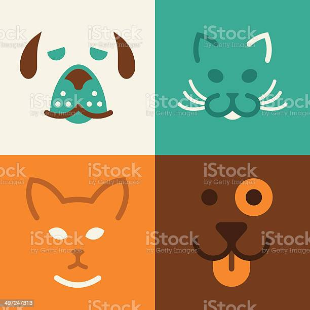 Cat and dog pet symbols vector id497247313?b=1&k=6&m=497247313&s=612x612&h=omekznkko0weekly9i6hnyed zgqdefe2b77h9ofeys=