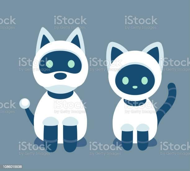 Cat and dog robot vector id1086015538?b=1&k=6&m=1086015538&s=612x612&h=izzzmimtx6ldwkjx47za2ikraqoplpnz4y4hs45zpcq=