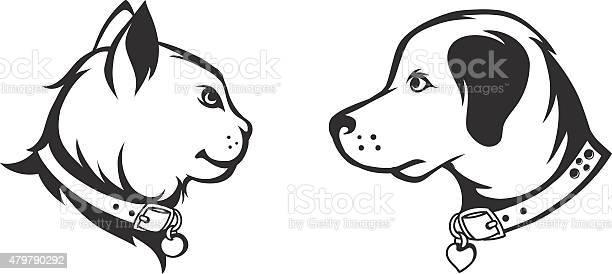 Cat and dog silhouettes vector id479790292?b=1&k=6&m=479790292&s=612x612&h=dcg62u  4fpaixpqtyg3 w5jrnlbeq6hnnkpjxlqn38=