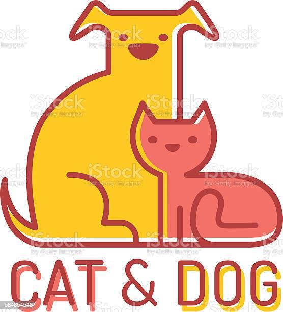 Cat and dog vector id584854546?b=1&k=6&m=584854546&s=612x612&h=dy6cb8id1ipvdsqdkxuxortrybmne9u1k6gzzb2d4zw=