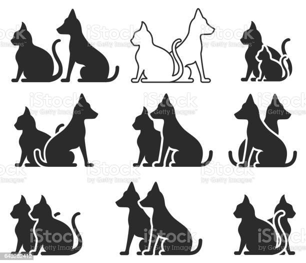 Cat and dog vector id643282412?b=1&k=6&m=643282412&s=612x612&h=m85vmop1drmzrbkk7ppxndrzpjpfxfvzqc4ofgcupri=