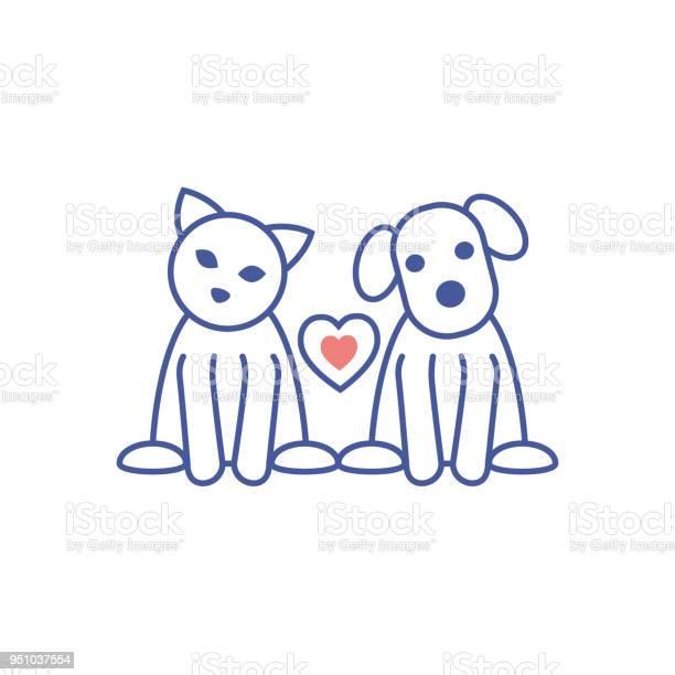 Cat and dog vector llustration vector id951037554?b=1&k=6&m=951037554&s=612x612&h=zuzblvm y5pxorgfgnchxzoplo8n5gwnwgyas31cfie=
