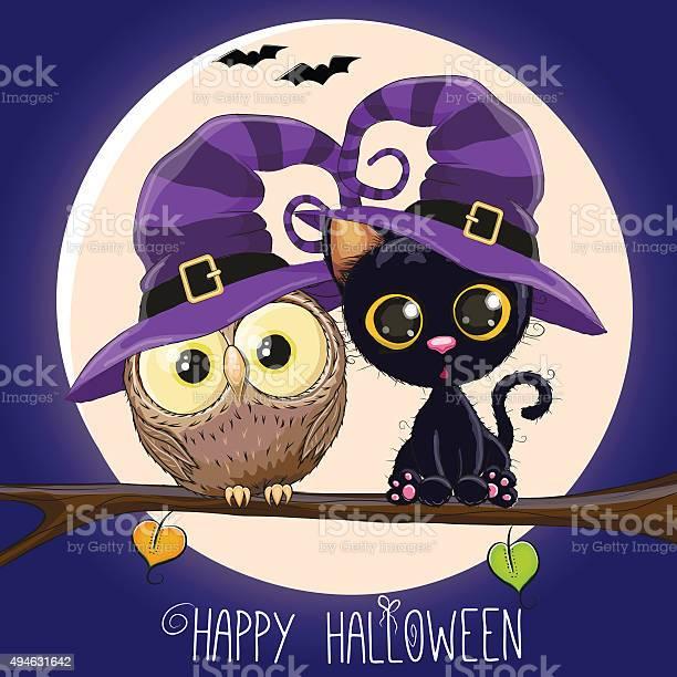 Cat and owl vector id494631642?b=1&k=6&m=494631642&s=612x612&h=0ic1p0rbuz4ikbjn0mleztubn9ehaeb4ziondefkhdm=