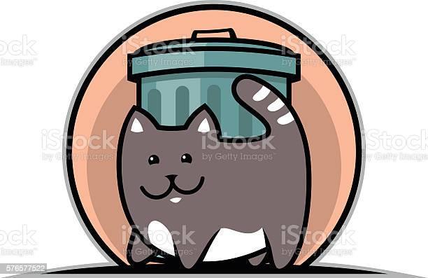 Cat and trash can vector id576577522?b=1&k=6&m=576577522&s=612x612&h=ca ggq3epc63zjriunizncs5rpy8zsjm1uqs5skb74k=
