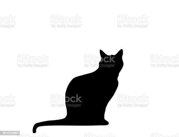 Cat black silhouette sitting white background vector vector id904535660?b=1&k=6&m=904535660&s=612x612&h=39h3mtiwep141qocvtczugwxap1hprmkcnkwfqy5jvq=