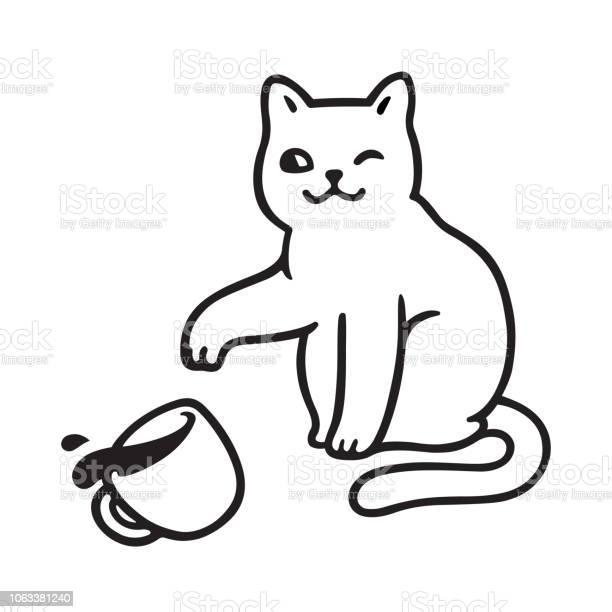 Cat breaking cup vector id1063381240?b=1&k=6&m=1063381240&s=612x612&h=mi4rg6e3mptvv gjtbfjjphyi3py77us4exbw udhpk=