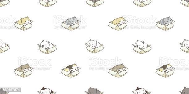 Cat breed in the box kitten vector illustration cartoon vector id852657874?b=1&k=6&m=852657874&s=612x612&h=k3641tudpdjtt4vgyu1ikz sml2qzlots9wzw3hsawy=