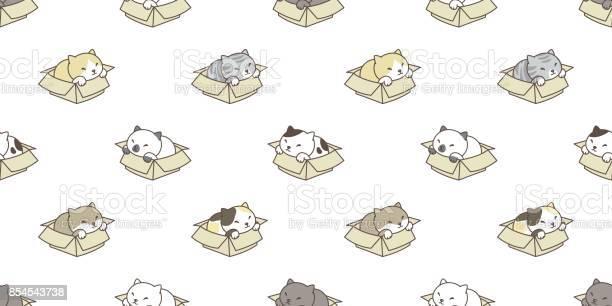 Cat breed in the box kitten vector seamless pattern wallpaper vector id854543738?b=1&k=6&m=854543738&s=612x612&h=pzs ke0bhu jy1qqr8b2hdzqarlle0mzk rlcsrhoyu=