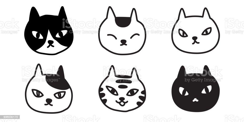 cat breed vector illustration calico kitten character Halloween cartoon doodle vector art illustration