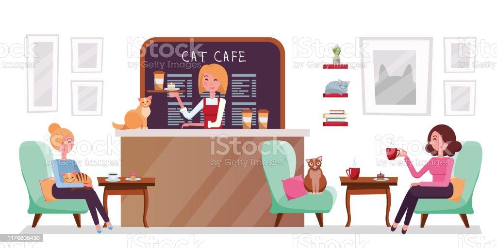 fille de rencontres avec des chats